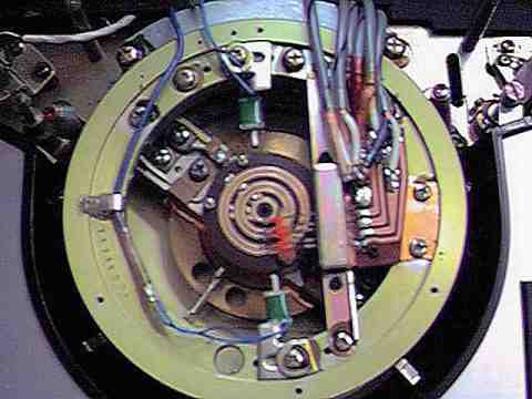 Javelin X-400 VTR - looking inside the head drum.