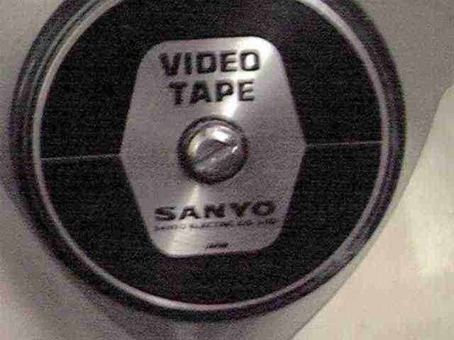 Javelin take up reel with Sanyo name on the label.