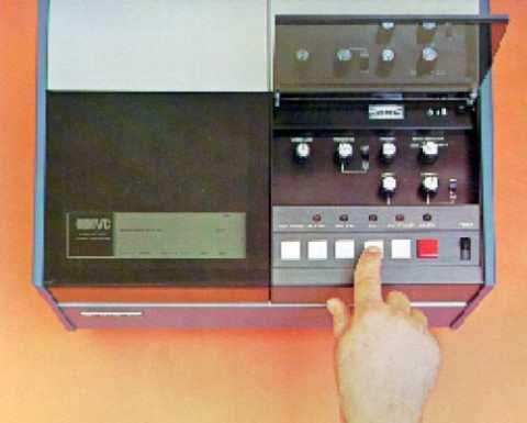 IVC VCR-100 video cartridge recorder